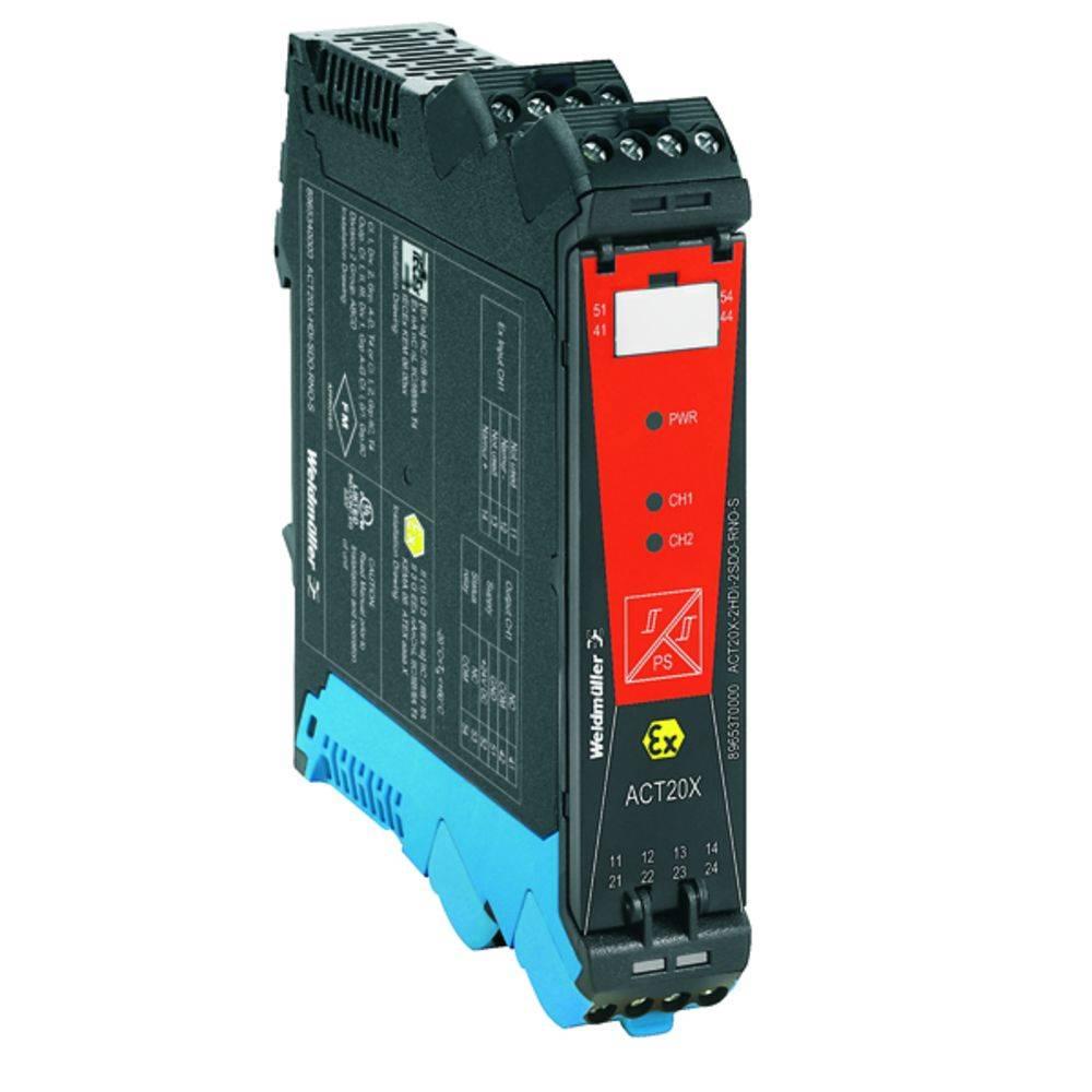 Ex-Signalni pretvornik/razdelilnik ACT20X-2HDI-2SDO-S kataloška številka 8965390000 Weidmüller vsebuje: 1 kos