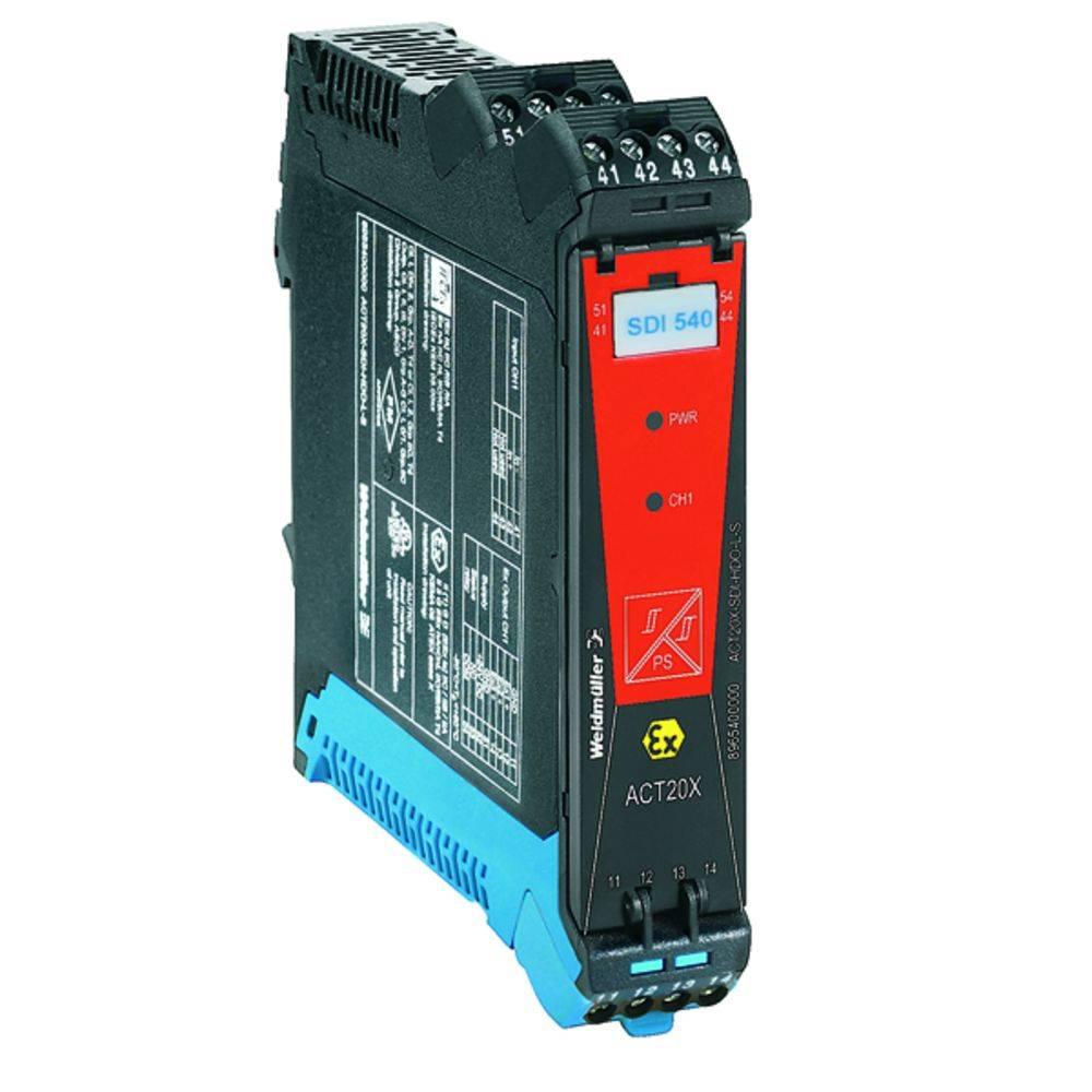 Ex-Signalni pretvornik/razdelilnik ACT20X-2SDI-2HDO-S kataloška številka 8965420000 Weidmüller vsebuje: 1 kos