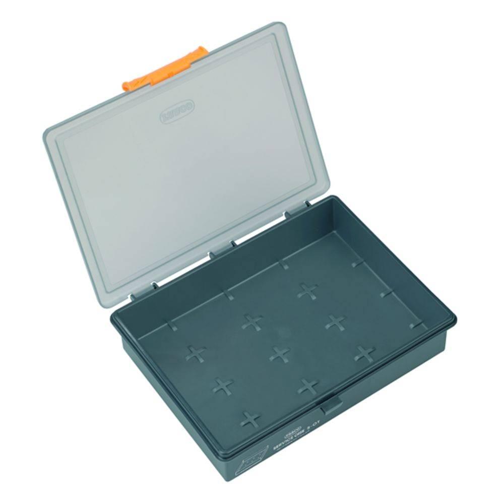 Sortirni kovček (D x Š x V) 195 x 241 x 56 mm Weidmüller kovček PSC5-01 PP št. predalov: 1 fiksna pregraditev