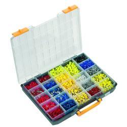 Klemmeforbindelsesstykker-sortiment Weidmüller 9202640000 0.50 mm² 6 mm² Hvid, Grå, Rød, Sort, Blå , Gul 4500 stk