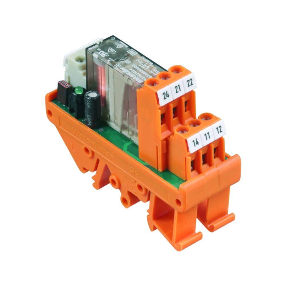 Tiskano vezje za rele 1 kos Weidmüller RSM8 RD 1RT 24V (+) CERB 24 V/DC