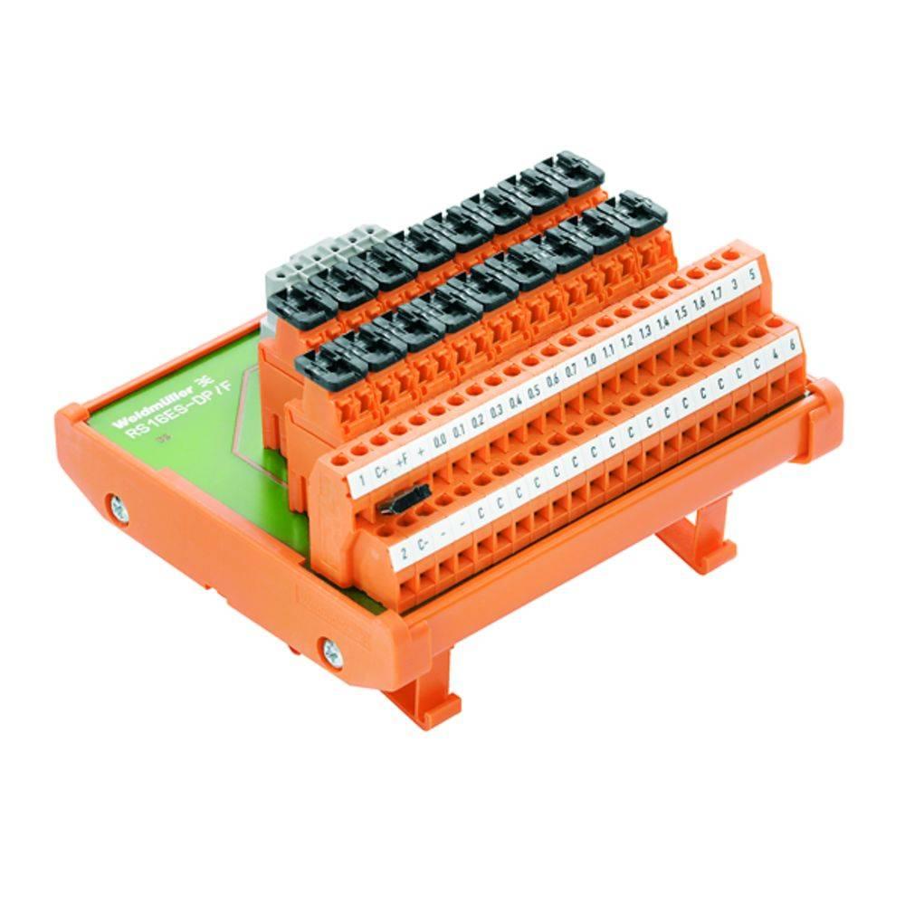 Prenosni element RS 16IO 2W F R S Weidmüller vsebina: 1 kos
