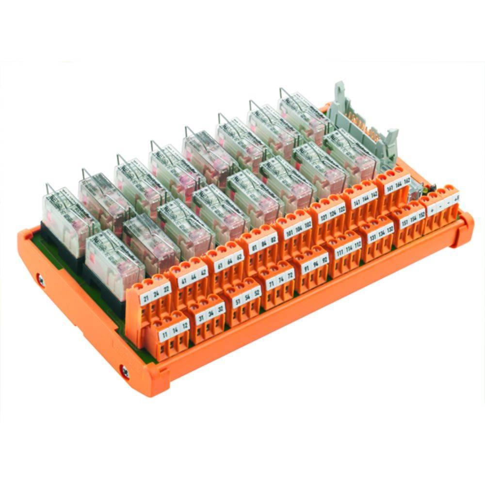 Tiskano vezje za rele, opremljeno 1 kos Weidmüller RSM-16 C 1CO S 250 V/AC