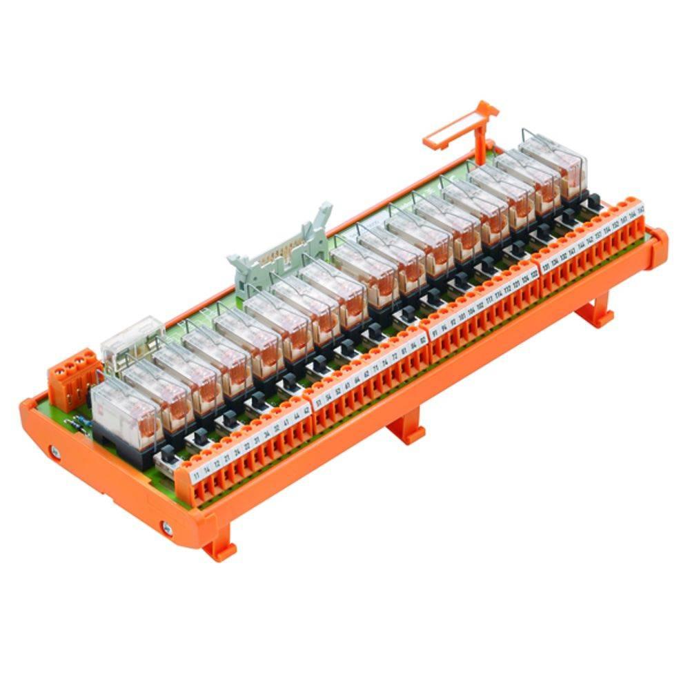 Relaisplatine (value.1292961) bestykket 1 stk Weidmüller RSM-16 FOR 1CO S 250 V/AC