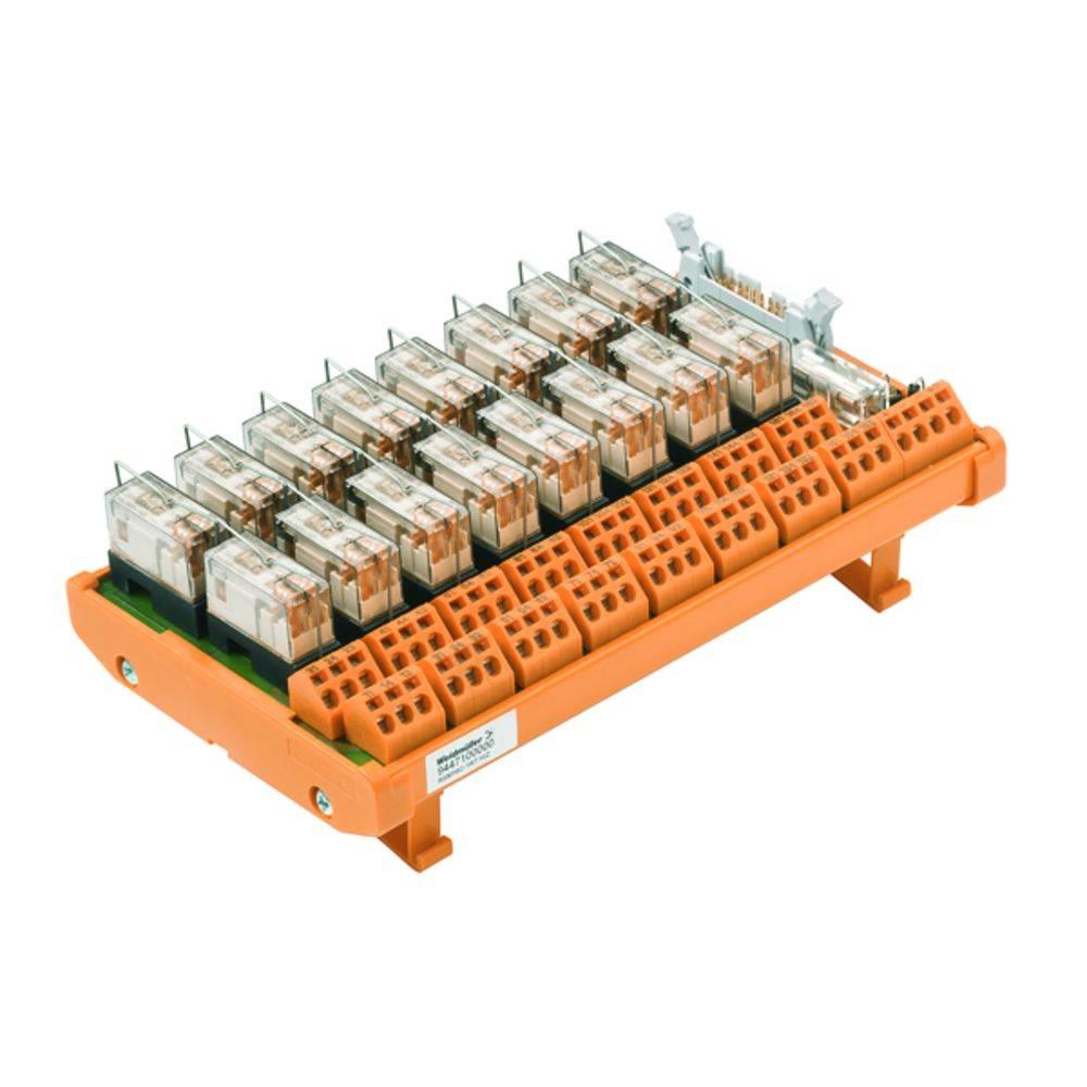 Relaisplatine (value.1292961) bestykket 1 stk Weidmüller RSM-16 C 1CO Z 250 V/AC