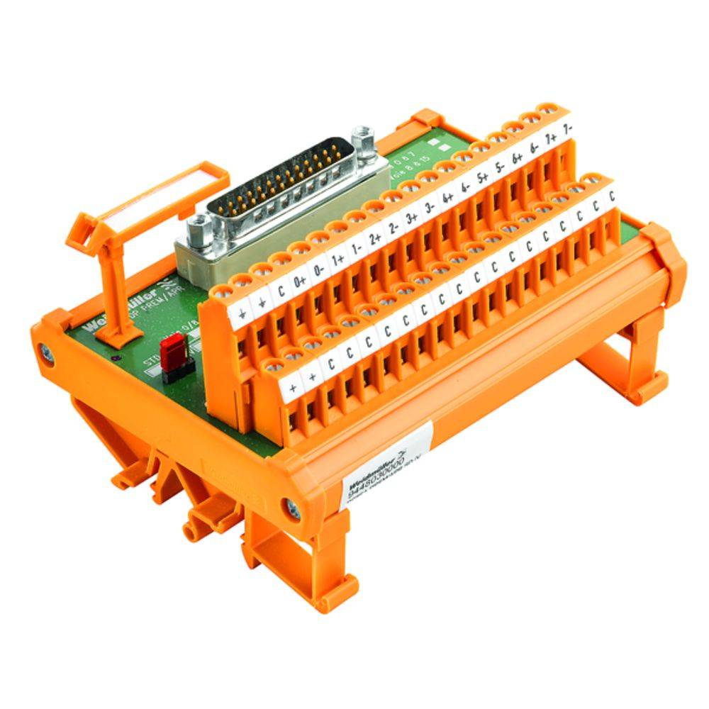 Overføringselement 1 stk Weidmüller RS 8AI PREM/APR SD S 50, 25 V/DC, V/AC (max)