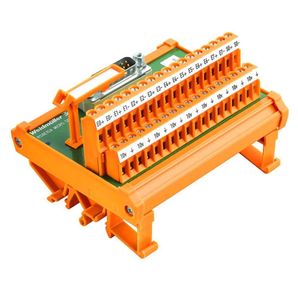 Prenosni element RS 8AI1AO MICRO SD S Weidmüller vsebina: 1 kos