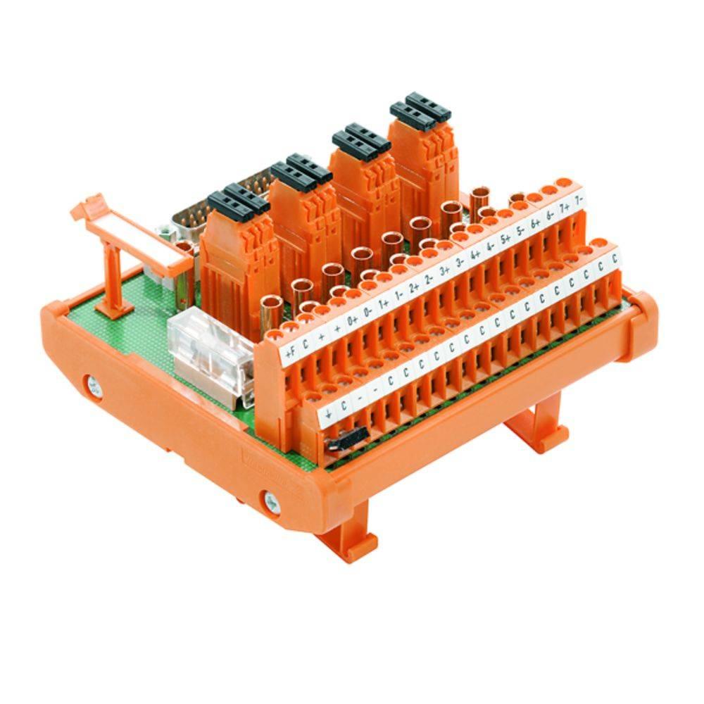 Übergabeelement (value.1292954) 1 stk Weidmüller RS 8AIO I-M-DP SD S 50, 25 V/DC, V/AC (max)