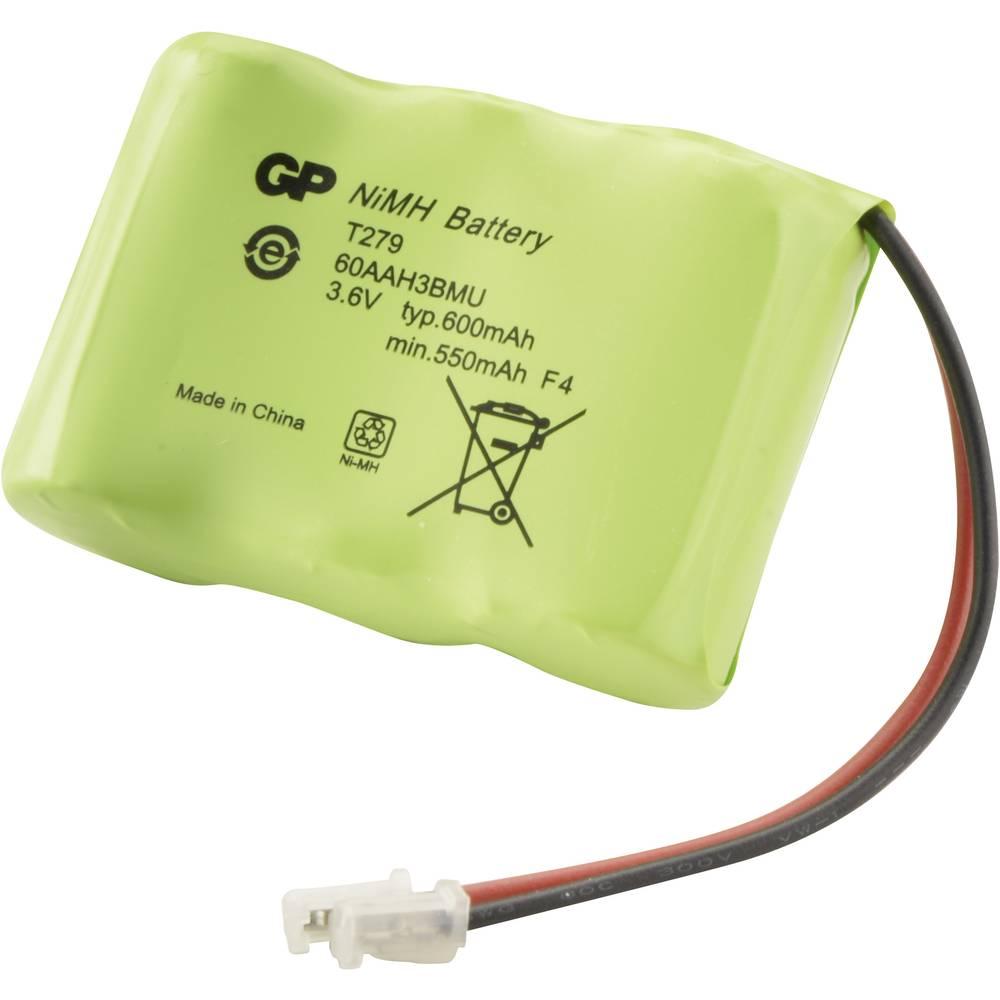 Akumulator za bežični telefon GP Batteries za: Alcatel, Panasonic, Philips, Sony, Sanyo NiMH 3.6 V 600 mAh