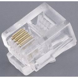 Utikač, ravan TRU Components 1582442 1 kom.