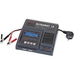Višenamjenski punjač baterija za modele 220 V 20 A Graupner Ultramat 18 olovne, LiFe, LiIon, LiPo, NiMH, NiCd