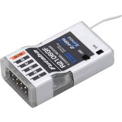 6-kanalnini sprejemnik R2106 2.4 GHz FHSS z vtičnim sistemom Futaba F1005