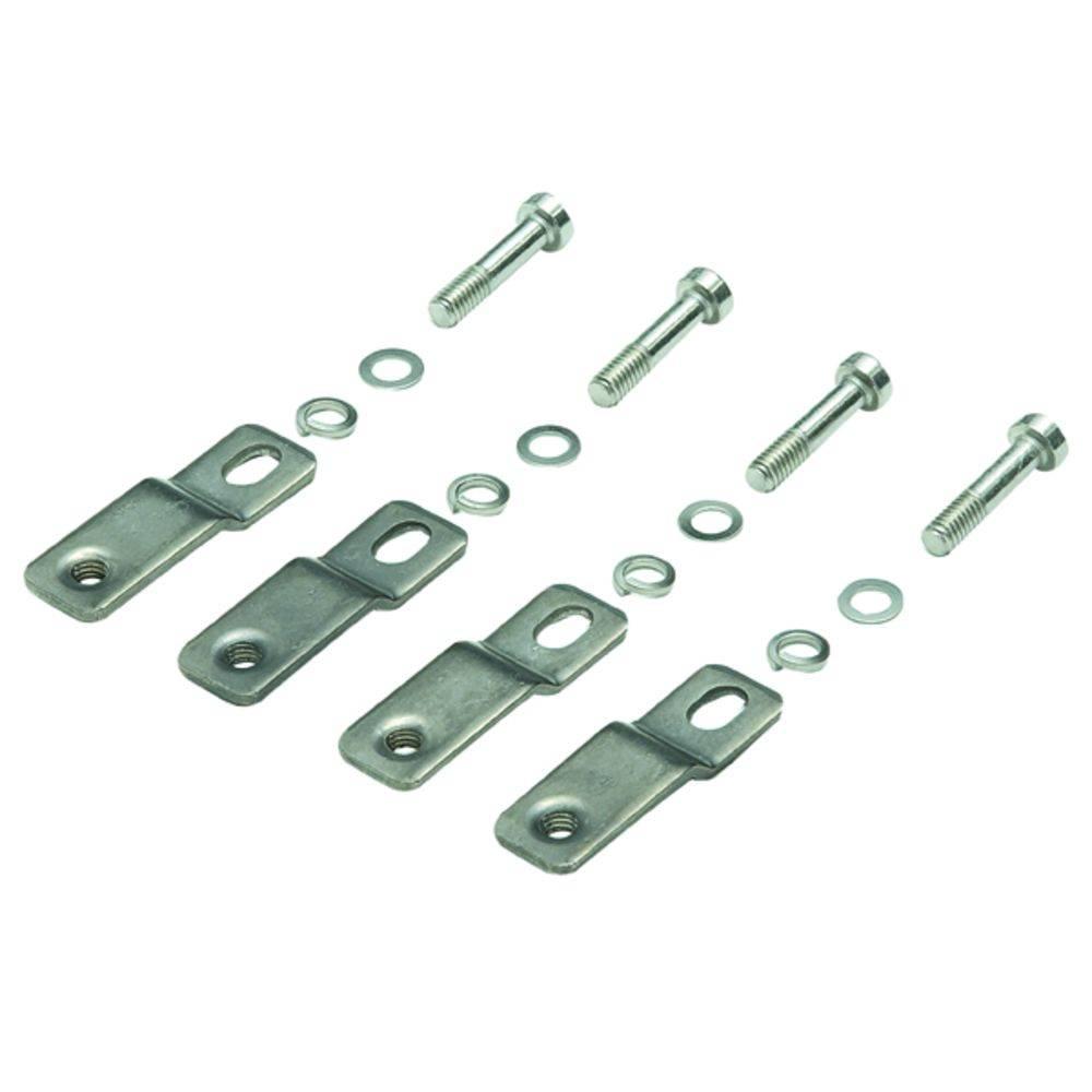 Fastgørelsessæt Weidmüller MF POK BIG 9510910000 (L x B x H) 10 x 60 x 60 mm 1 stk