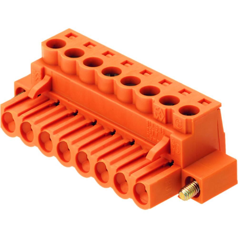 Priključek (standardni) Weidmüller 1802980000, mere: 5.08 mm 18 kosov