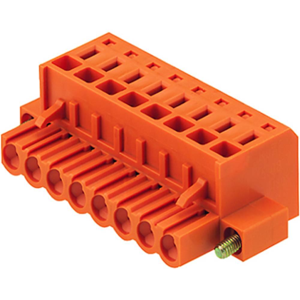 Tilslutningskabinet-kabel Samlet antal poler 4 Weidmüller 1803350000 Rastermål: 5.08 mm 60 stk