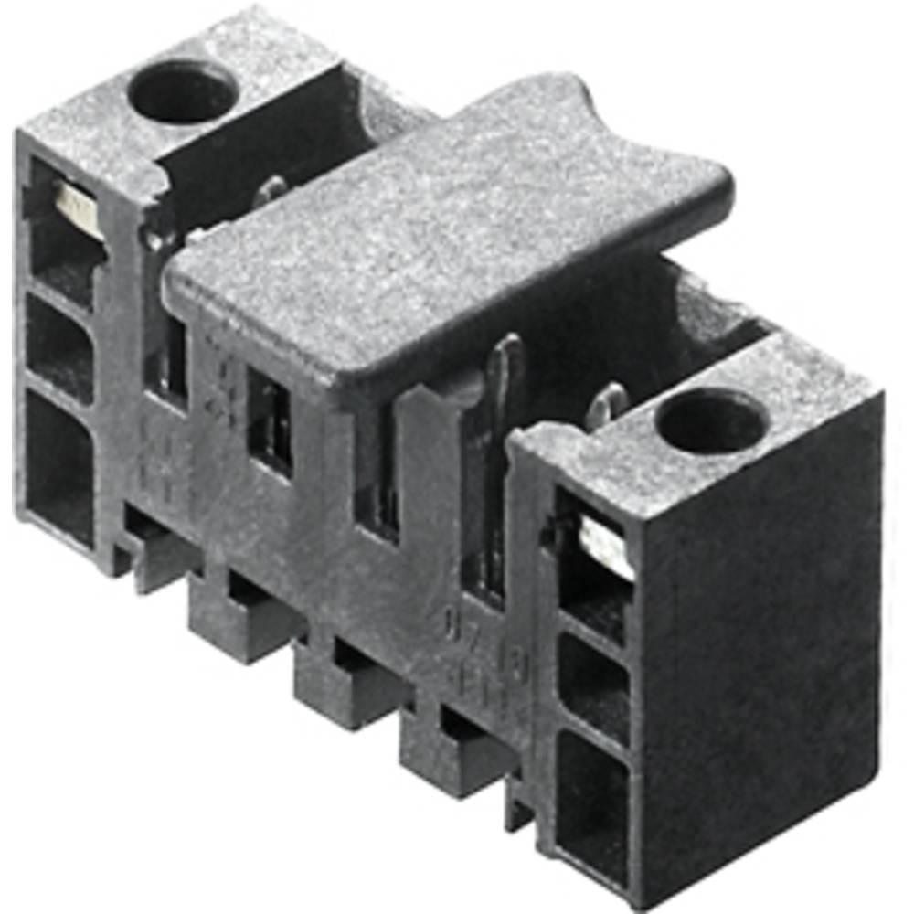 Vtični konektor za tiskana vezja črne barve Weidmüller 1805280000 vsebuje: 265 kosov