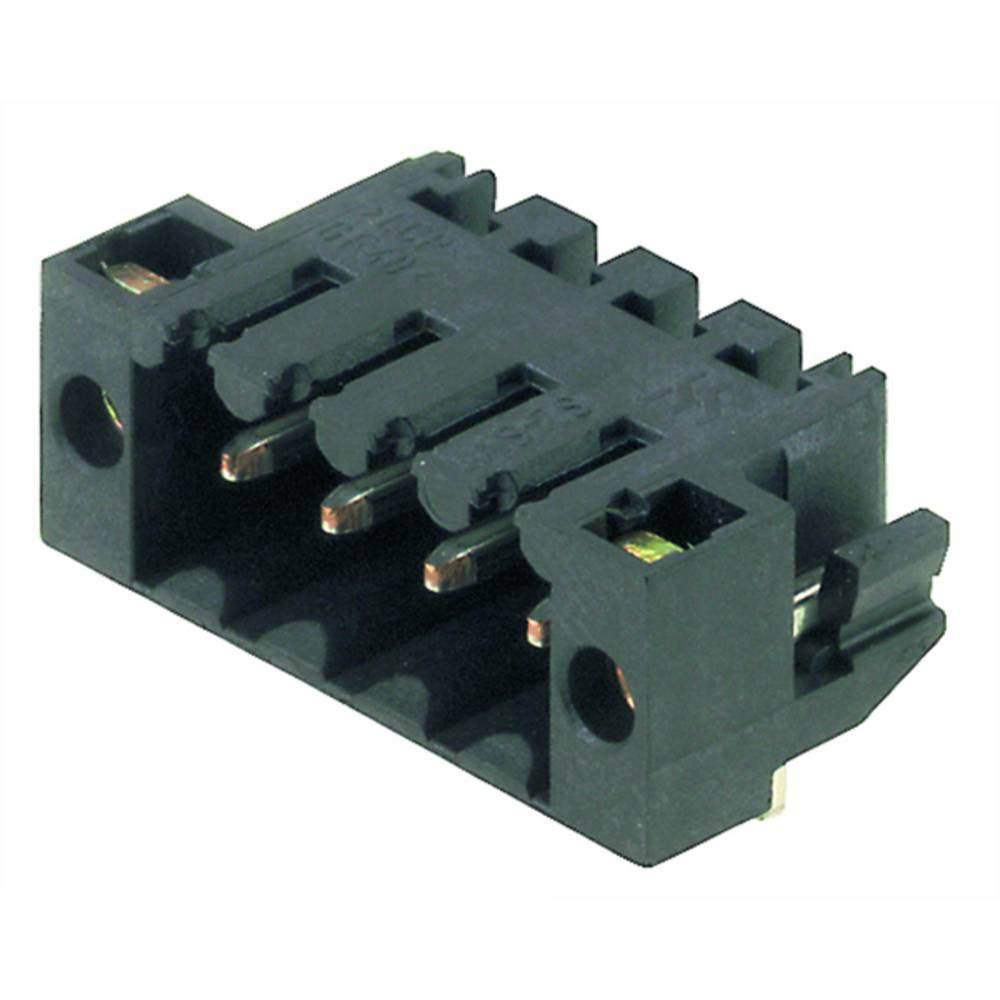 Vtični konektor za tiskana vezja črne barve Weidmüller 1805340000 vsebuje: 385 kosov