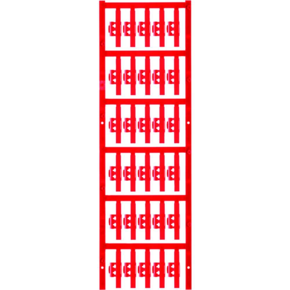 Markeringsophæng Weidmüller SFC 1/30 NEUTRAL RT 1805740000 150 stk Antal markører 150 Rød