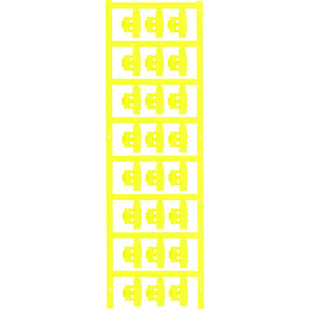 Markeringsophæng Weidmüller SFC 2/21 NEUTRAL GE 1805780000 120 stk Antal markører 120 Gul