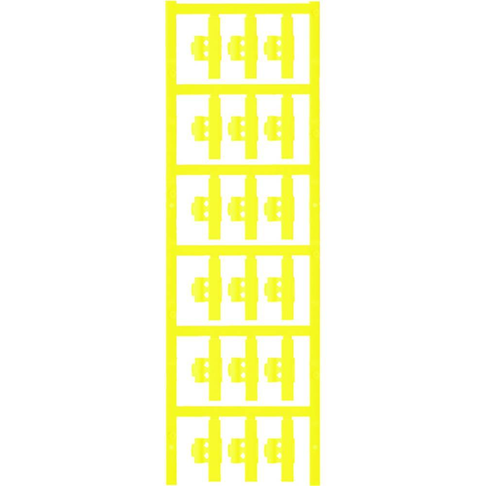 Markeringsophæng Weidmüller SFC 2/30 NEUTRAL GE 1805830000 90 stk Antal markører 90 Gul