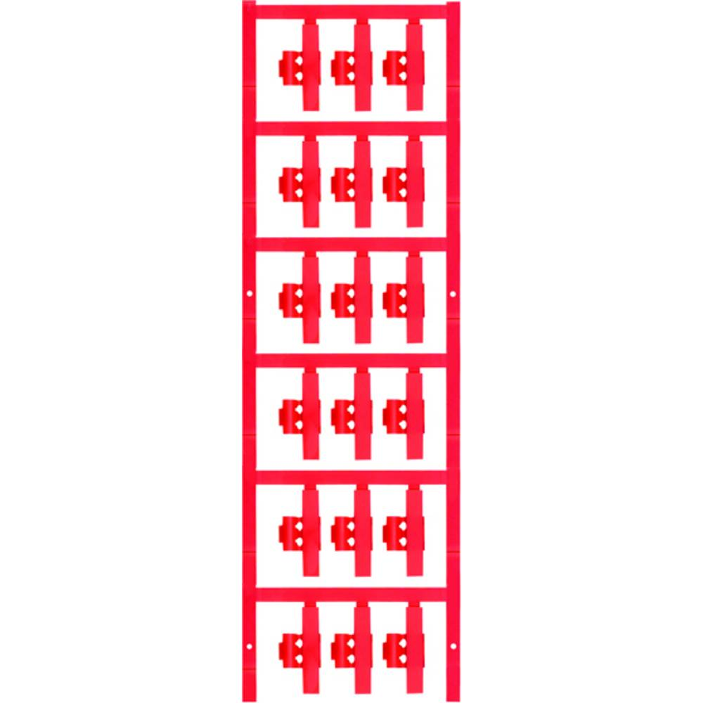 Markeringsophæng Weidmüller SFC 2/30 NEUTRAL RT 1805850000 90 stk Antal markører 90 Rød