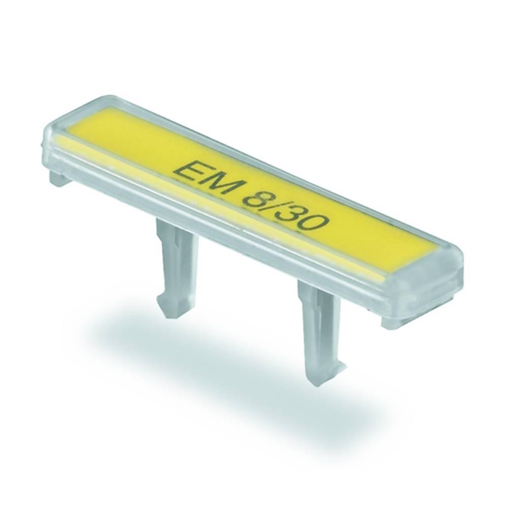 Terminal markører EM 8/30 1806120000 Transparent Weidmüller 50 stk