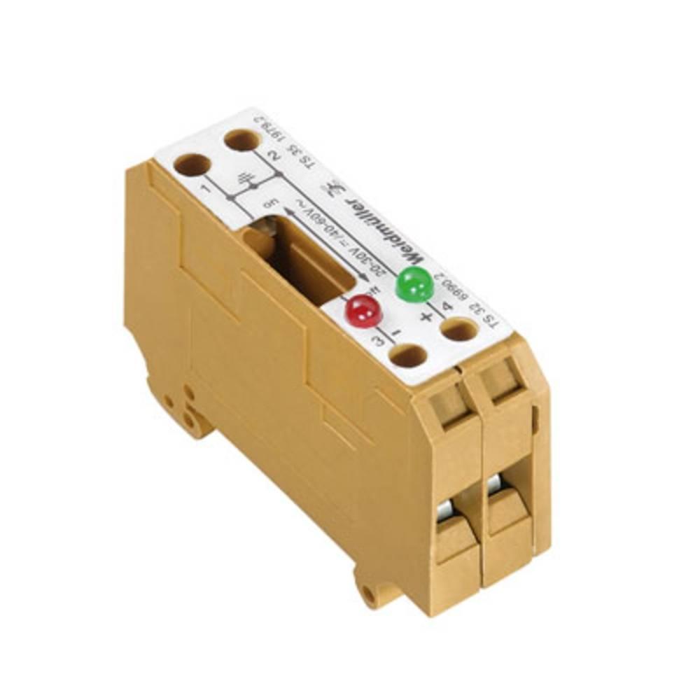 Afbryd og modulær afbryde terminal Weidmüller SAKT E/35 2LD 60VAC 0197920000 5 stk