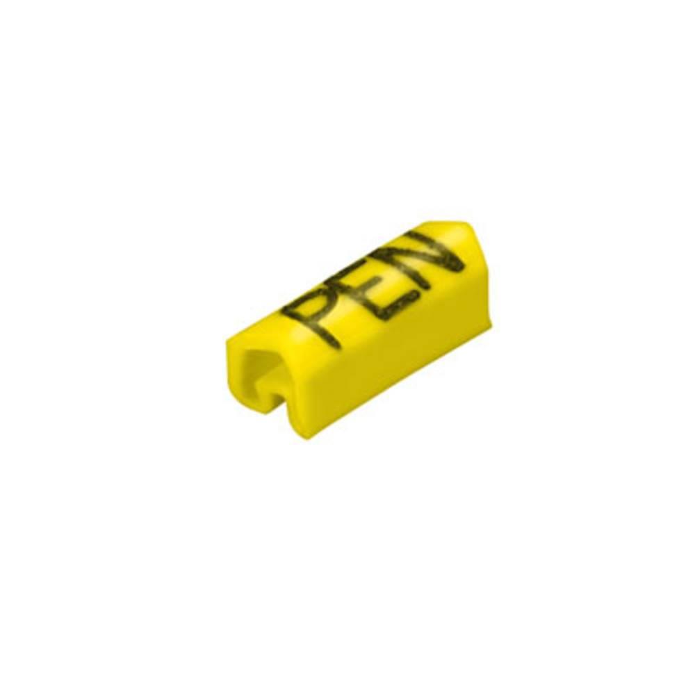 Mærkningsring Weidmüller CLI C 1-9 GE/SW PEN MP 0252711734 Gul 100 stk