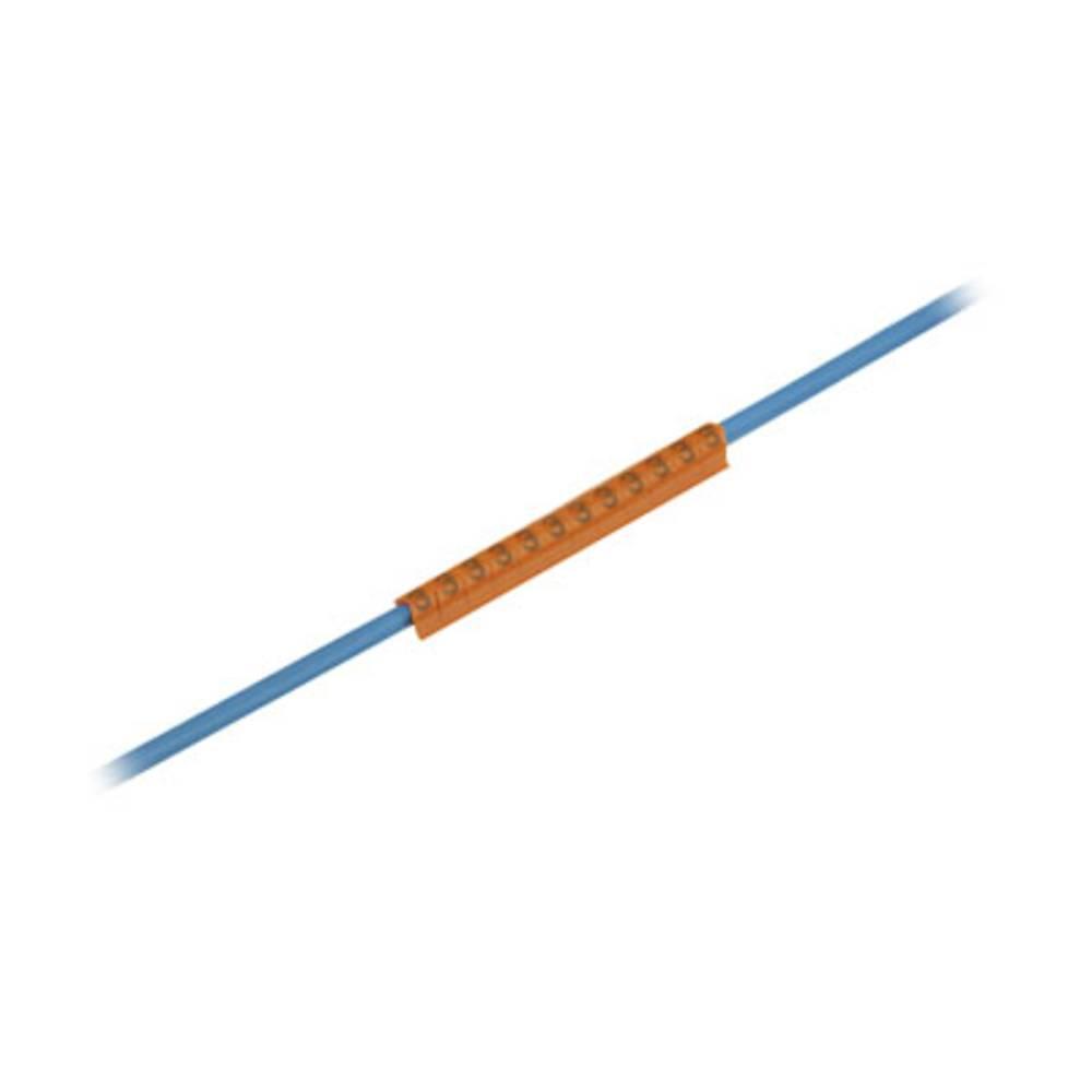 Mærkningsring Weidmüller CLI C 1-3 OR/SW 3 MP 0252611512 Orange 200 stk