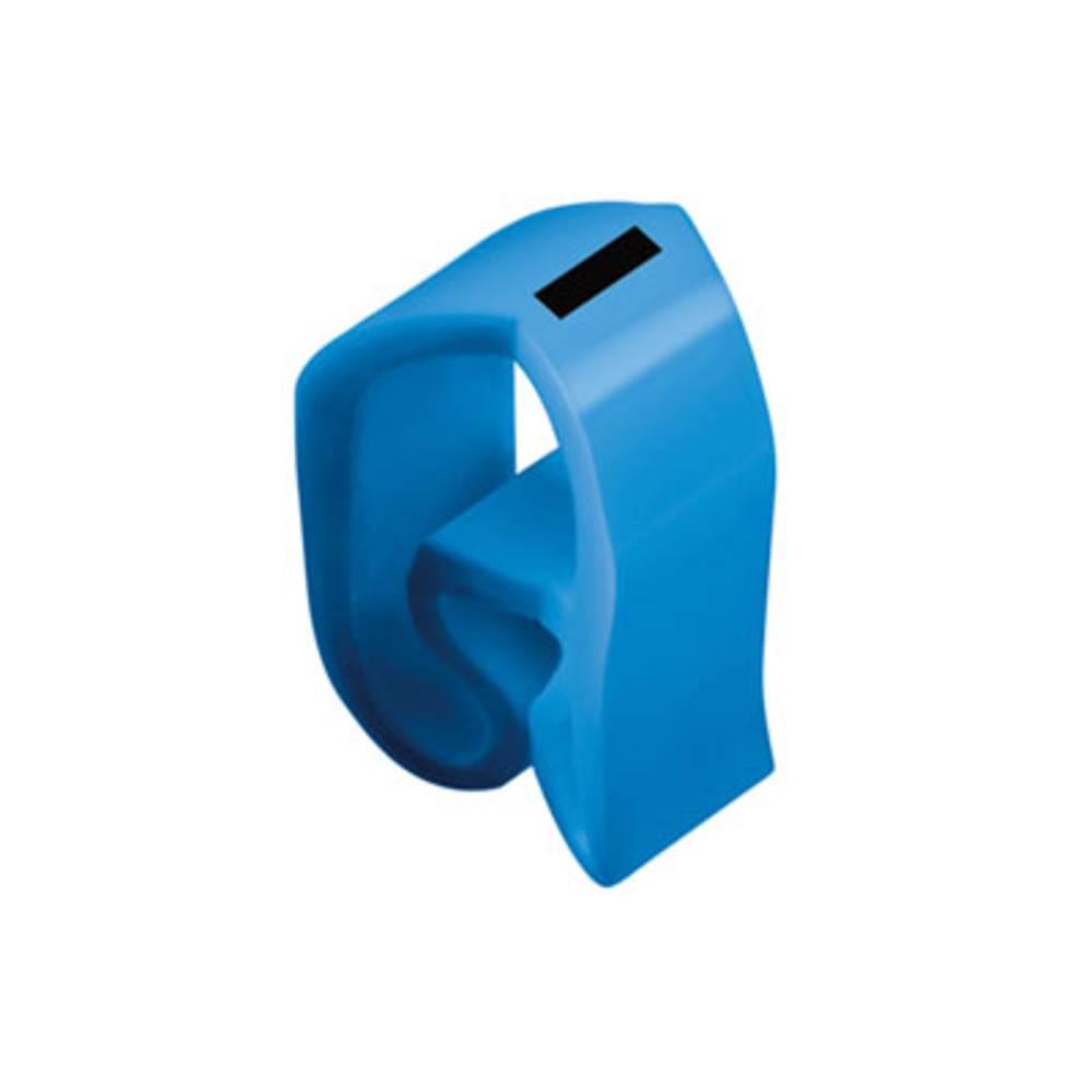 Mærkningsring Weidmüller CLI C 3-6 BL/SW - MP 0253411741 Atolblå 20 stk