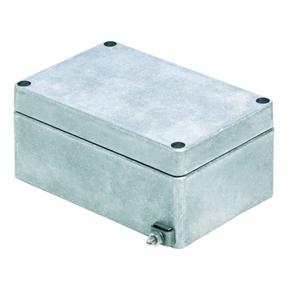 Universalkabinet Aluminium Weidmüller KLIPPON K31 VMQ RAL7001 5 stk