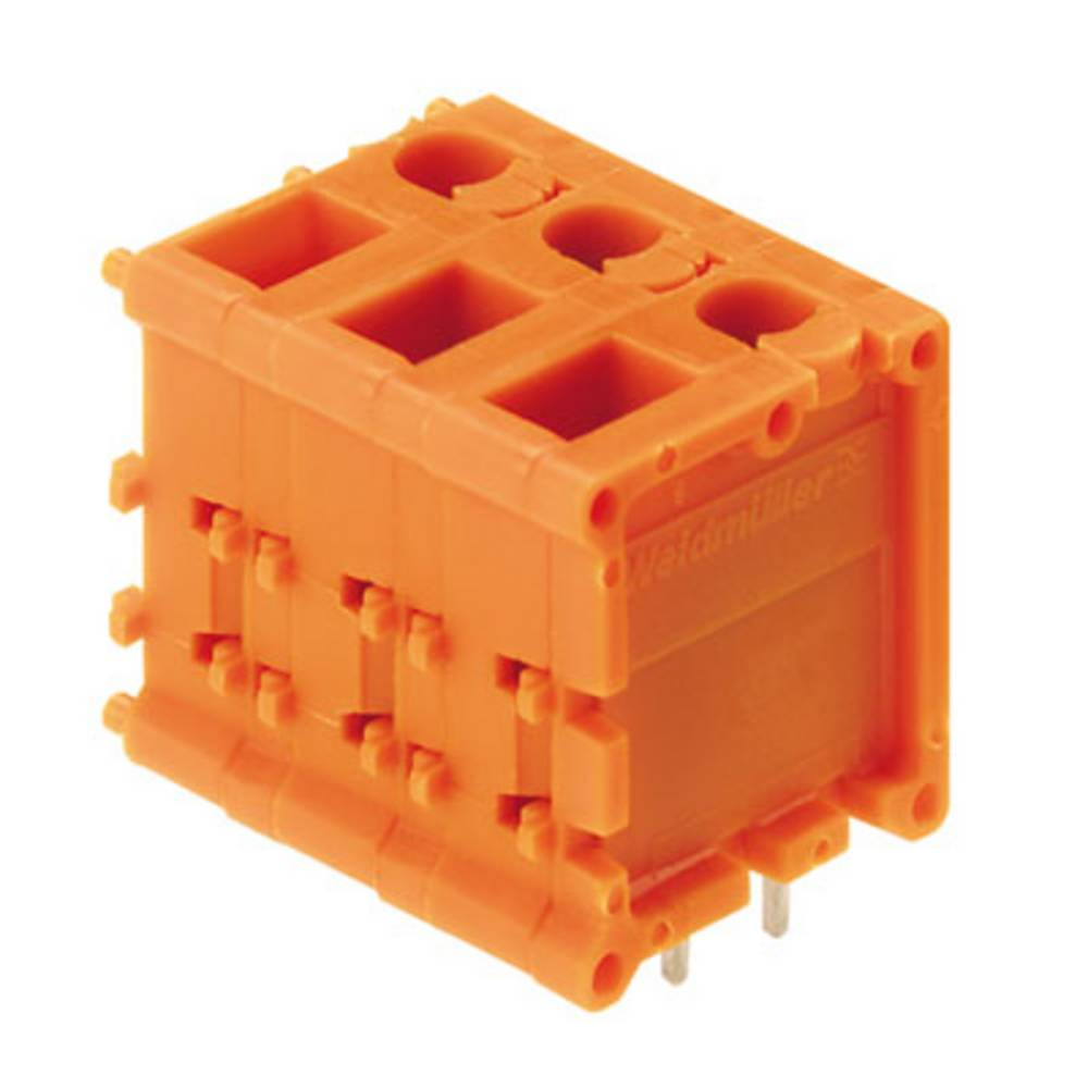 Skrueklemmeblok Weidmüller TOP1.5GS3/180 7 2STI OR 2.50 mm² Poltal 3 Orange 50 stk