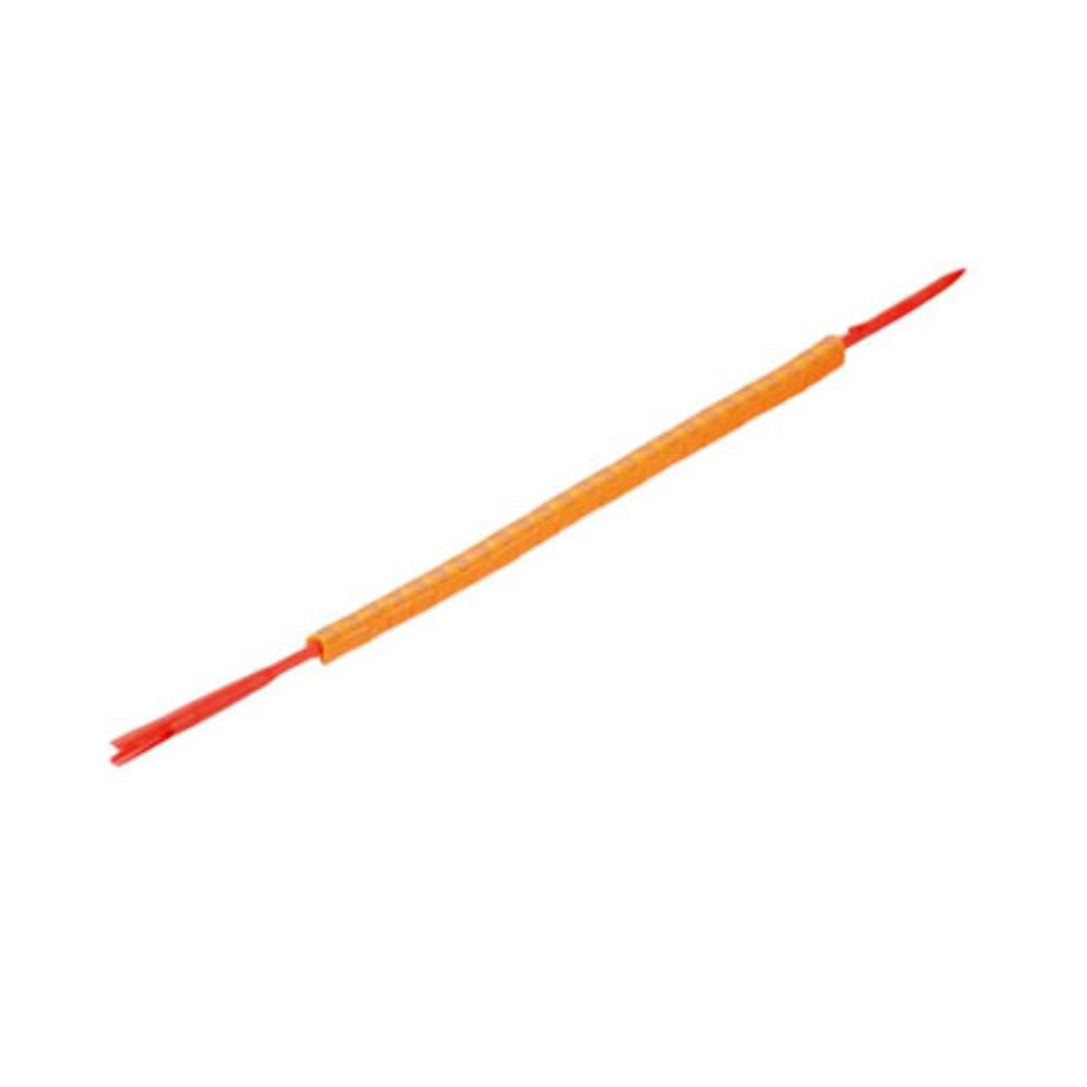 Mærkningsring Weidmüller CLI R 02-3 OR/SW 3 0560001512 Orange 250 stk