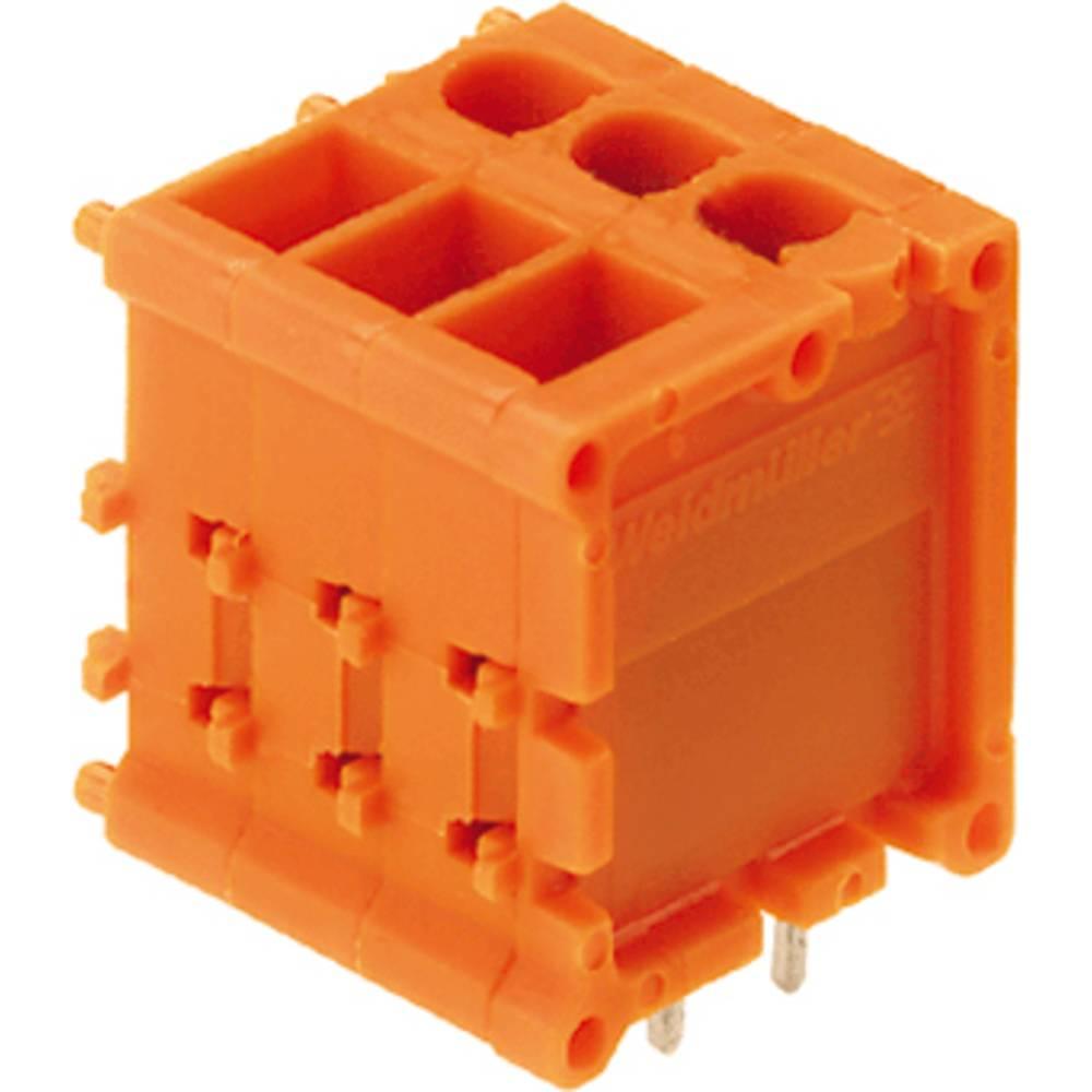 Skrueklemmeblok Weidmüller TOP1.5GS6/180 5 2STI OR 2.50 mm² Poltal 6 Orange 50 stk