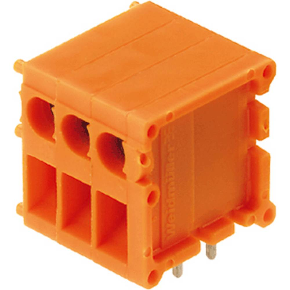 Skrueklemmeblok Weidmüller TOP1.5GS2/90 5 2STI OR 2.50 mm² Poltal 2 Orange 100 stk
