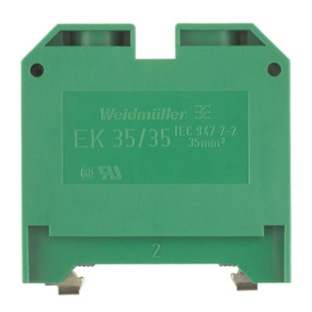 Beskyttende leder klemrække Weidmüller EK 35/35 0661460000 20 stk