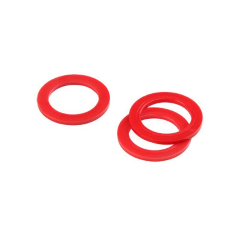 Tætningsring Weidmüller 1076660000 Polyamid M63 Rød 25 stk