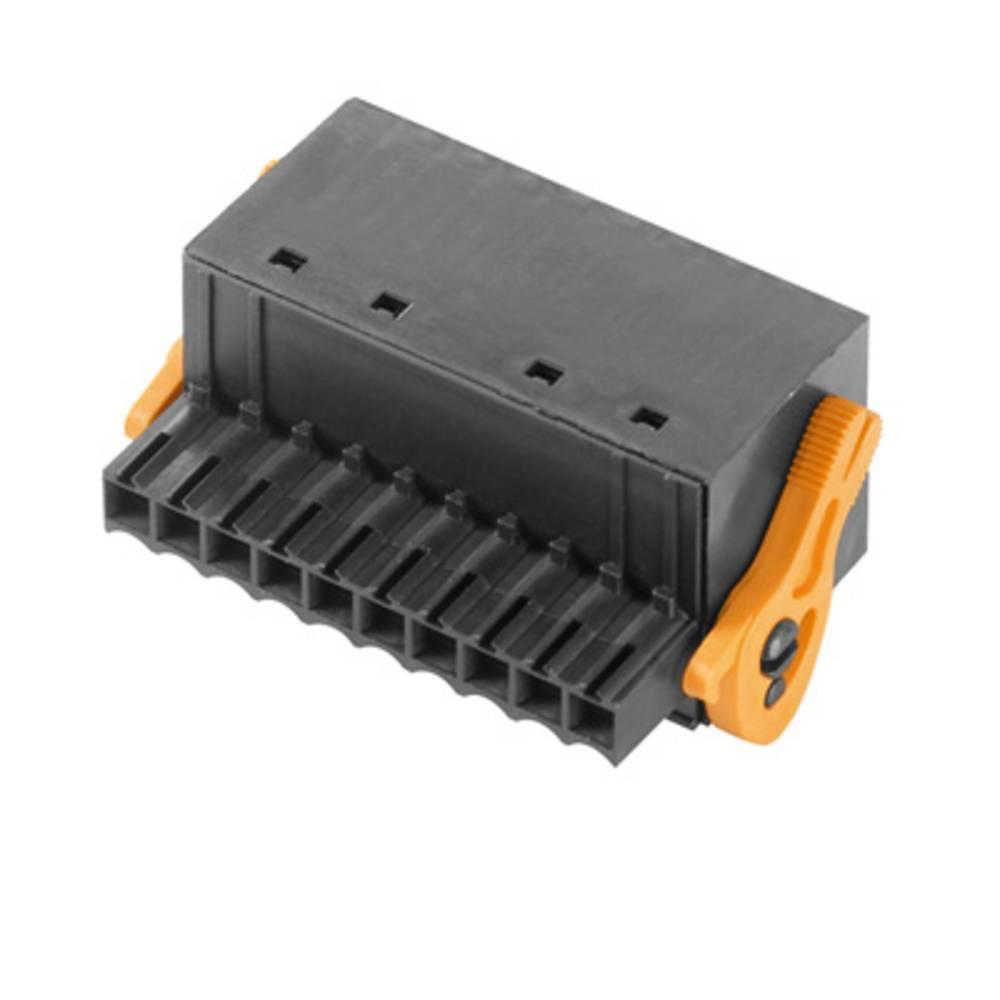 Vtični konektor za tiskana vezja črne barve Weidmüller 1000550000 vsebuje: 20 kosov