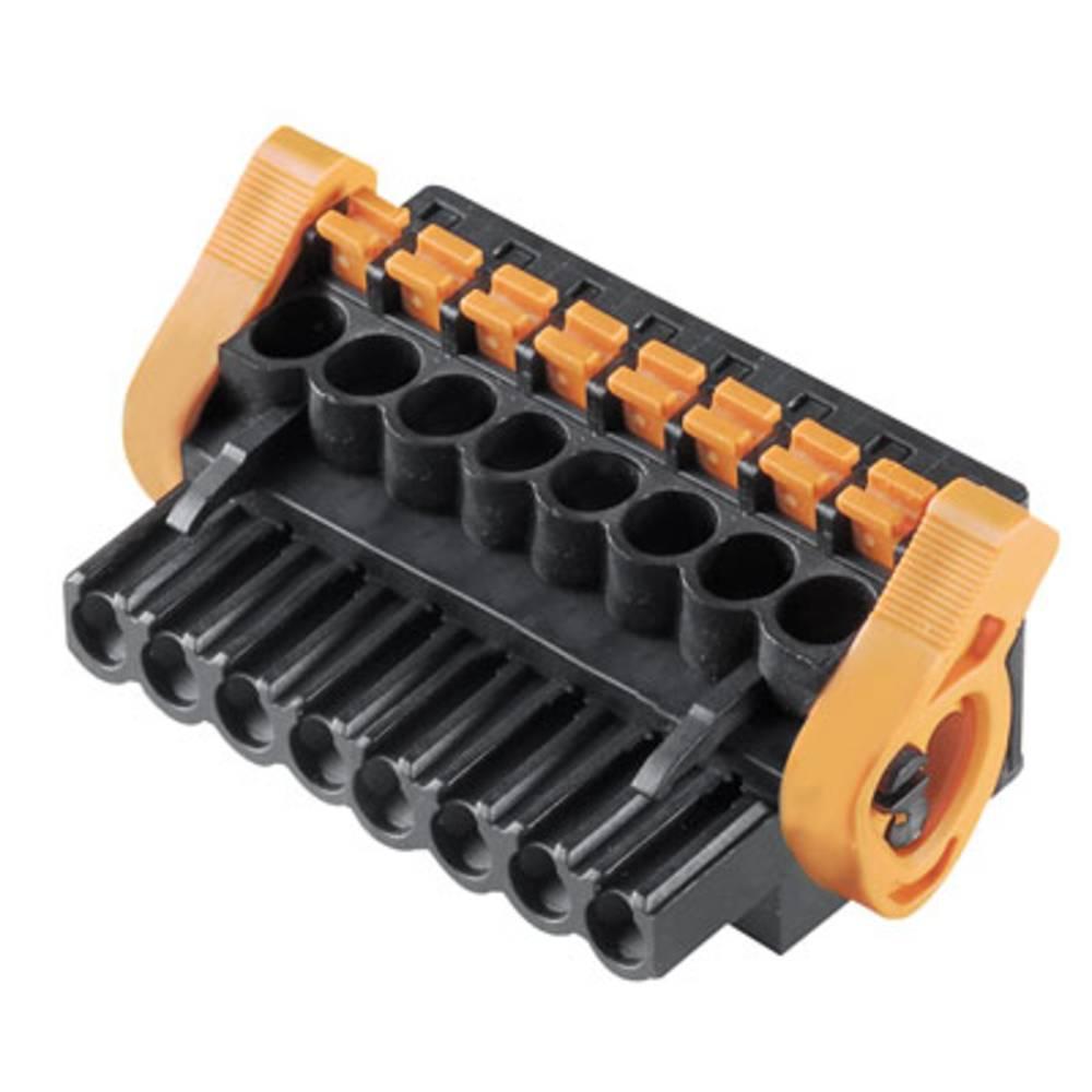 Vtični konektor za tiskana vezja črne barve Weidmüller 1000650001 vsebuje: 72 kosa