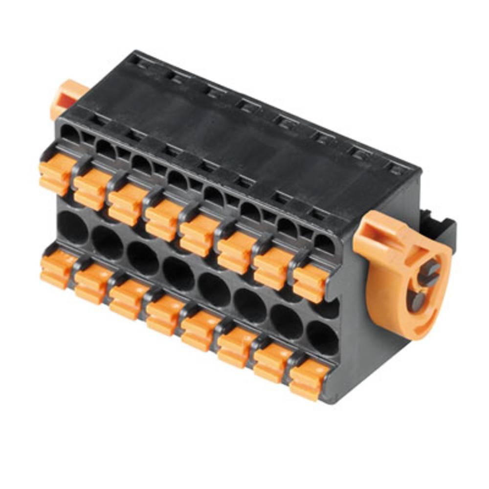 Tilslutningskabinet-kabel BL/SL Samlet antal poler 4 Weidmüller 1001100000 Rastermål: 5.08 mm 40 stk