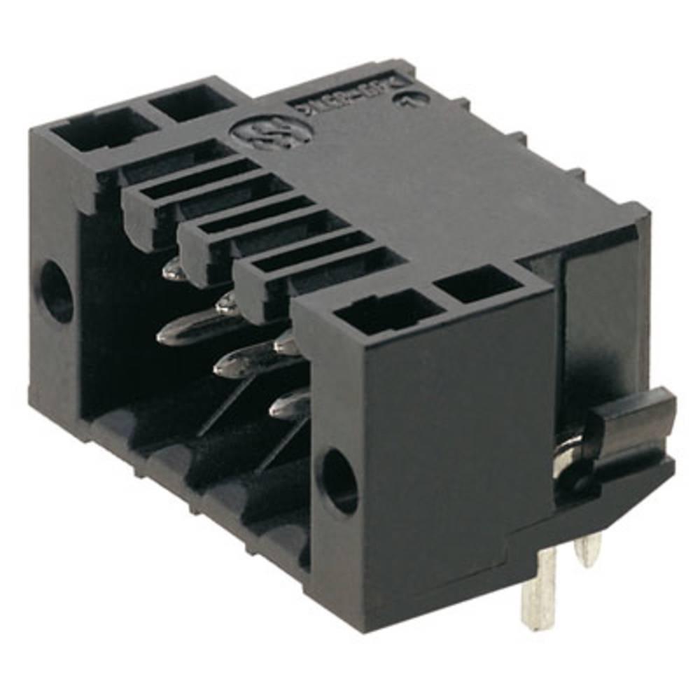 Vtični konektor za tiskana vezja črne barve Weidmüller 1001300000 vsebuje: 132 kosa