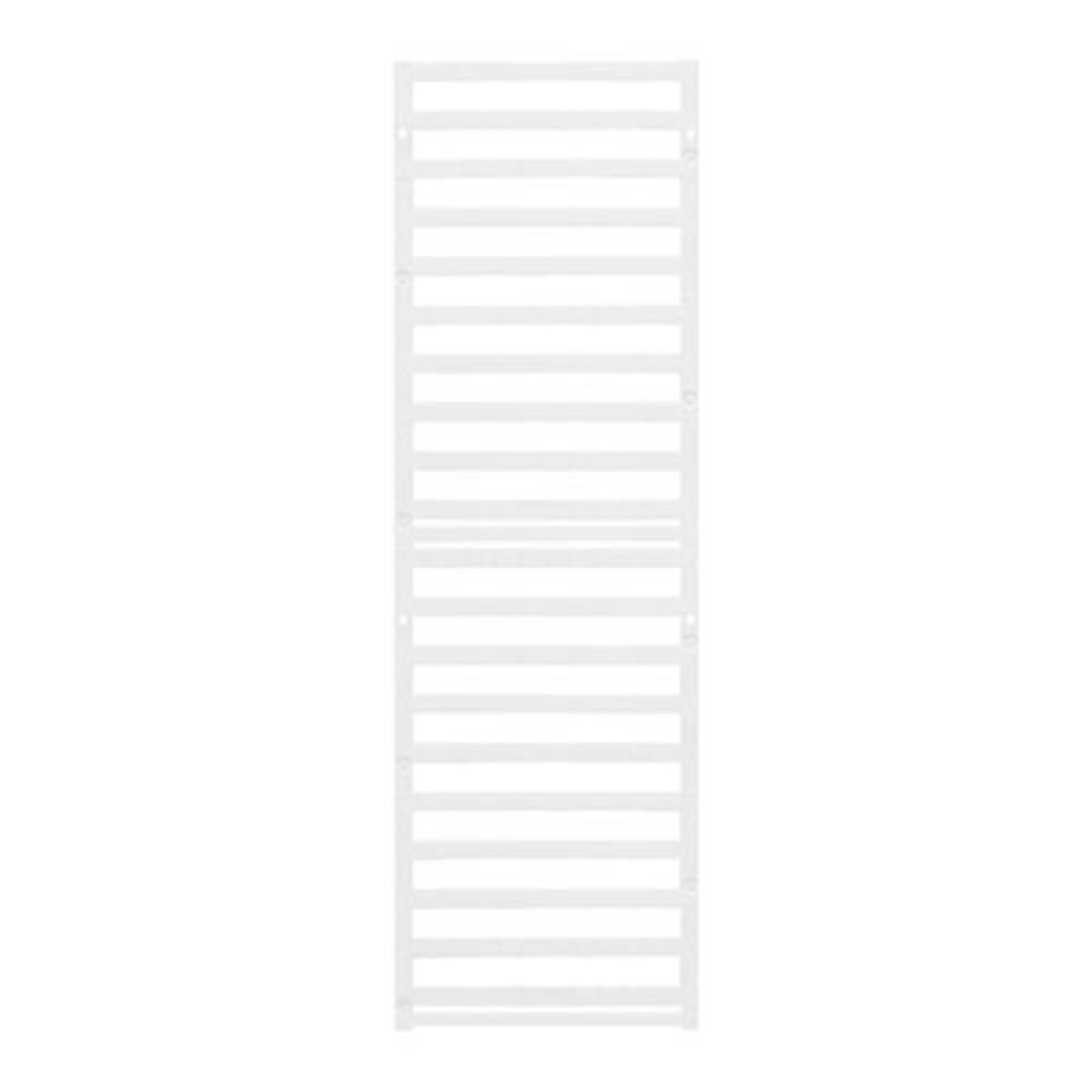 Enhed markører MultiCard DEK 5/6 PLUS MC NE WS 1011320000 Hvid Weidmüller 1000 stk