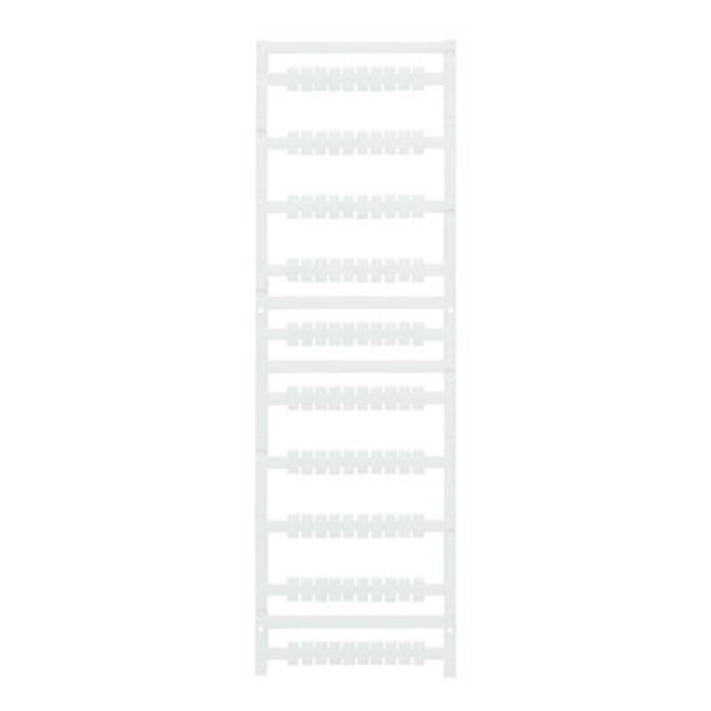 Enhed markører MultiCard MF-W 9/5.2F MC NE WS 1011410000 Hvid Weidmüller 500 stk