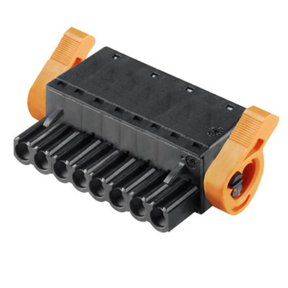 Vtični konektor za tiskana vezja črne barve Weidmüller 1015600000 vsebuje: 36 kosov
