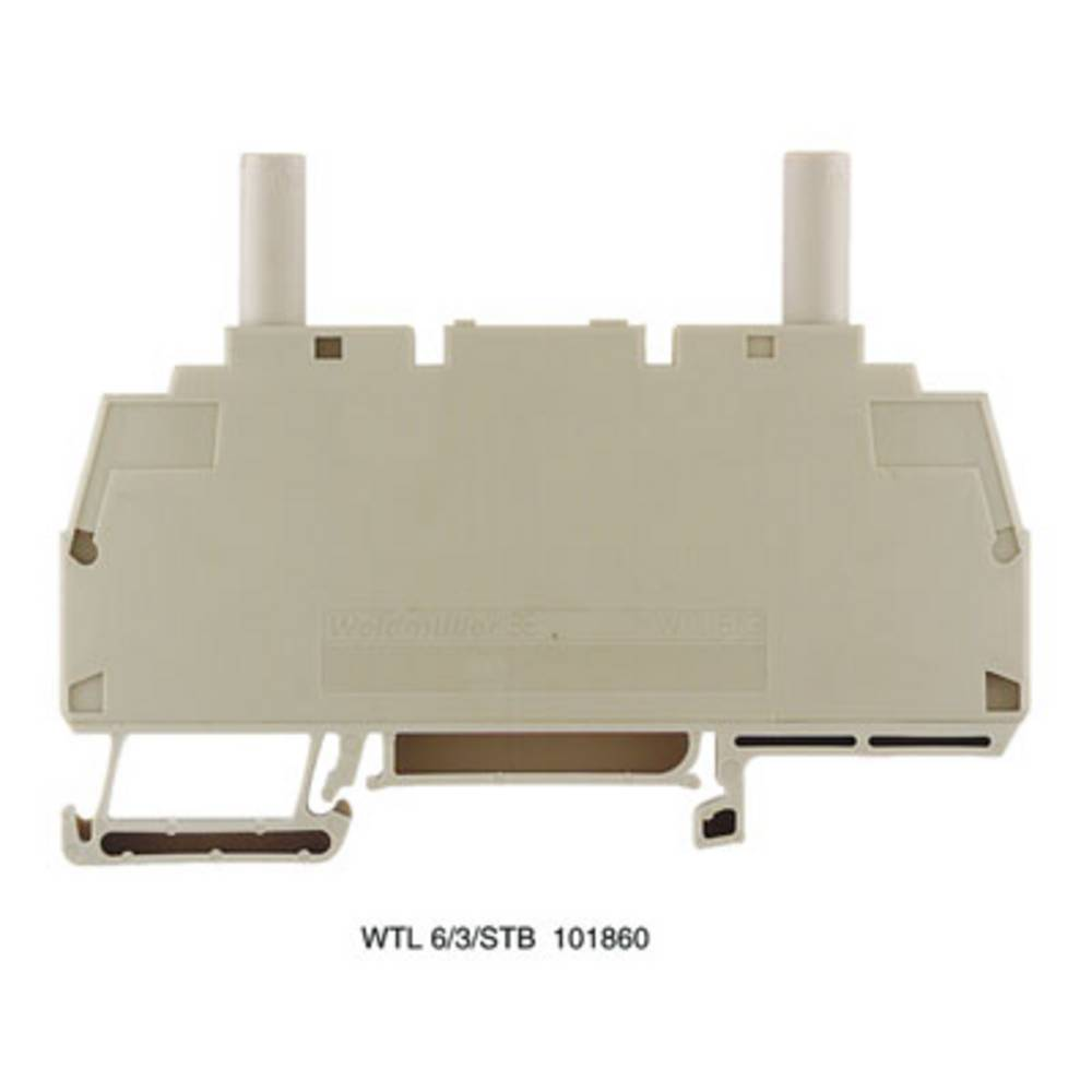 Test-afbryde terminal Weidmüller WTD 6/1 RT 1631750000 50 stk