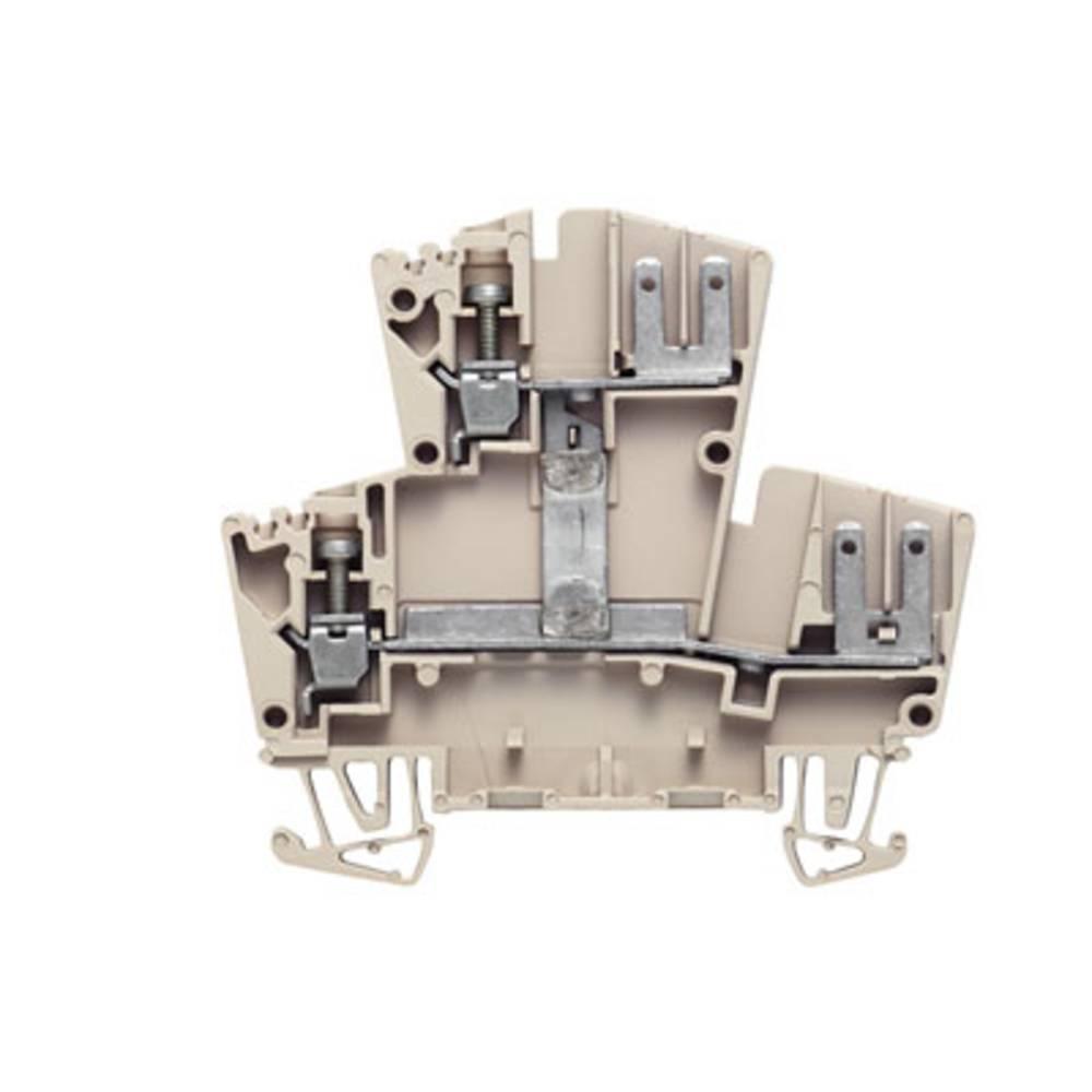 Dobbelt-niveau modulopbygget terminal Weidmüller WDK 2.5 FV 1022400000 100 stk