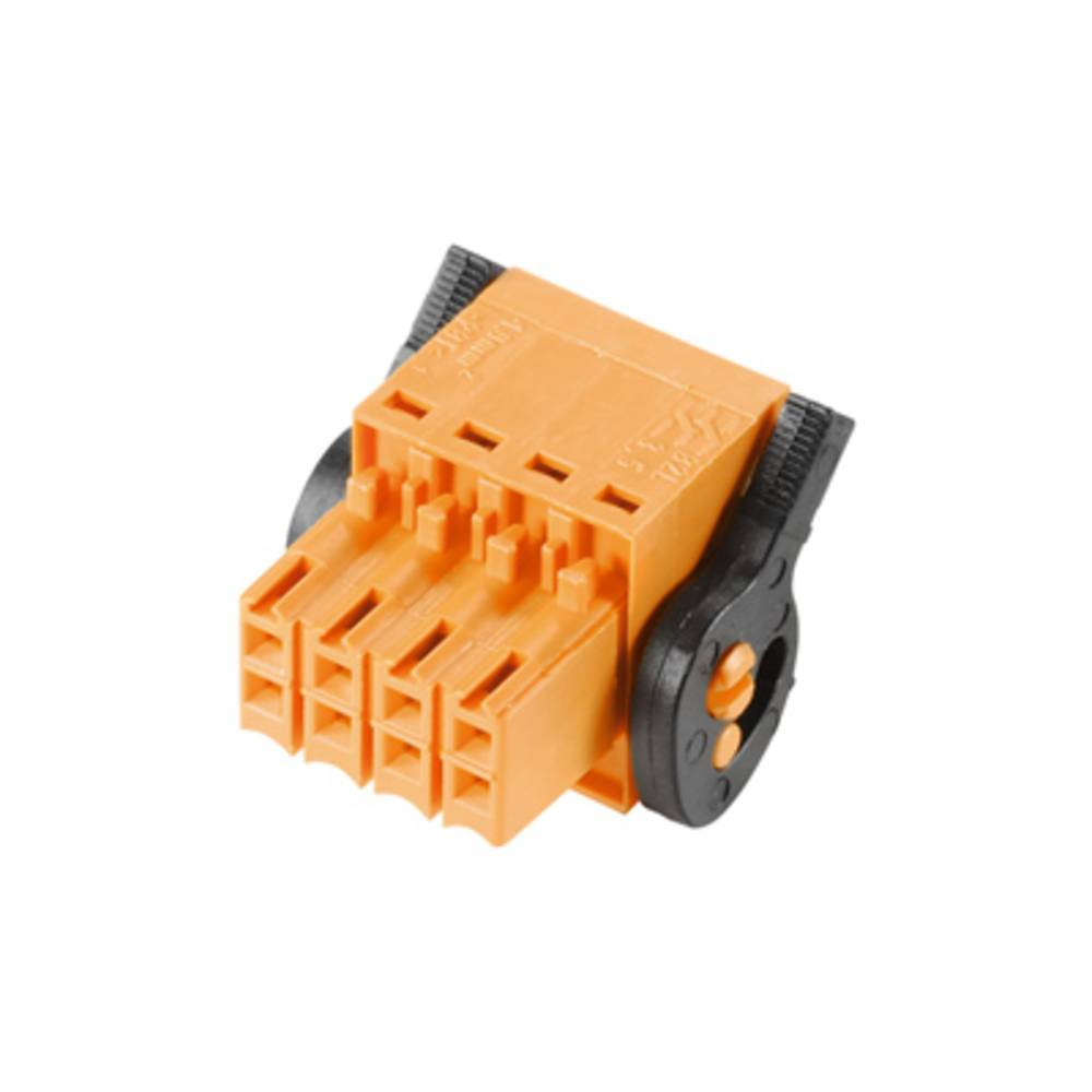 Konektor tiskanega vezja Weidmüller vsebuje: 36 kosov