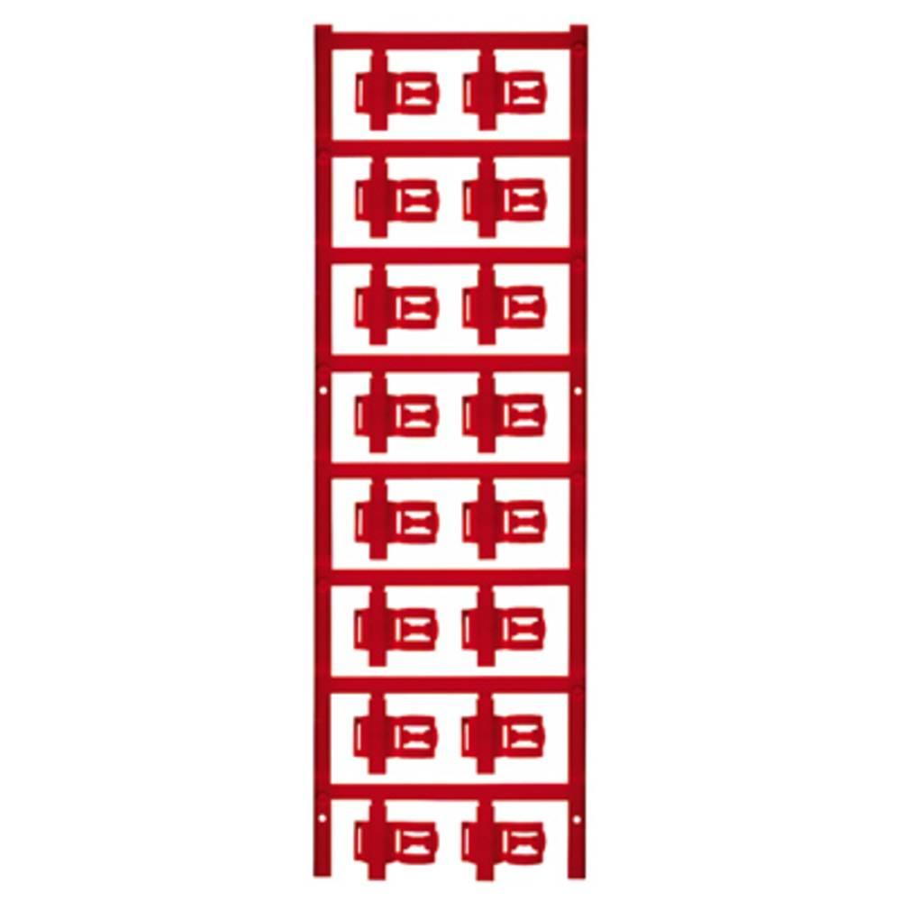 Markeringsophæng Weidmüller SFC 3/21 MC NE RT 1025290000 80 stk Antal markører 80 Rød