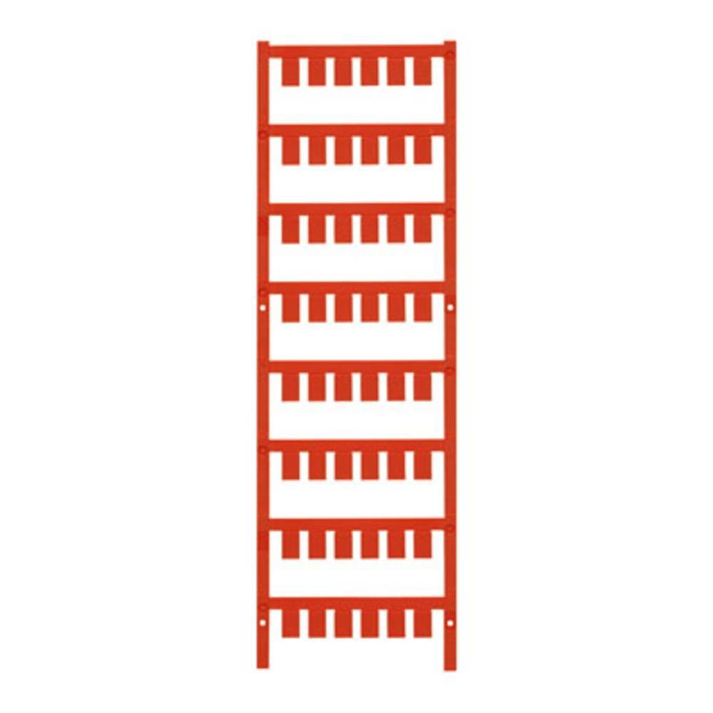 Makering af apparater Weidmüller ESG X20 10/7 MC NE RT 1026570000 240 stk Antal markører 240 Rød