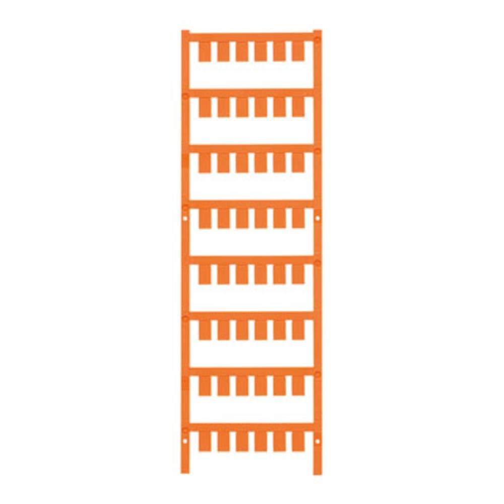 Makering af apparater Weidmüller ESG X20 10/7 MC NE OR 1026580000 240 stk Antal markører 240 Orange